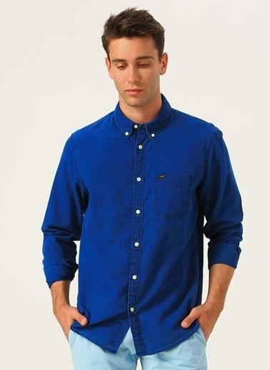Lee&Wrangler Lee Gömlek Mavi
